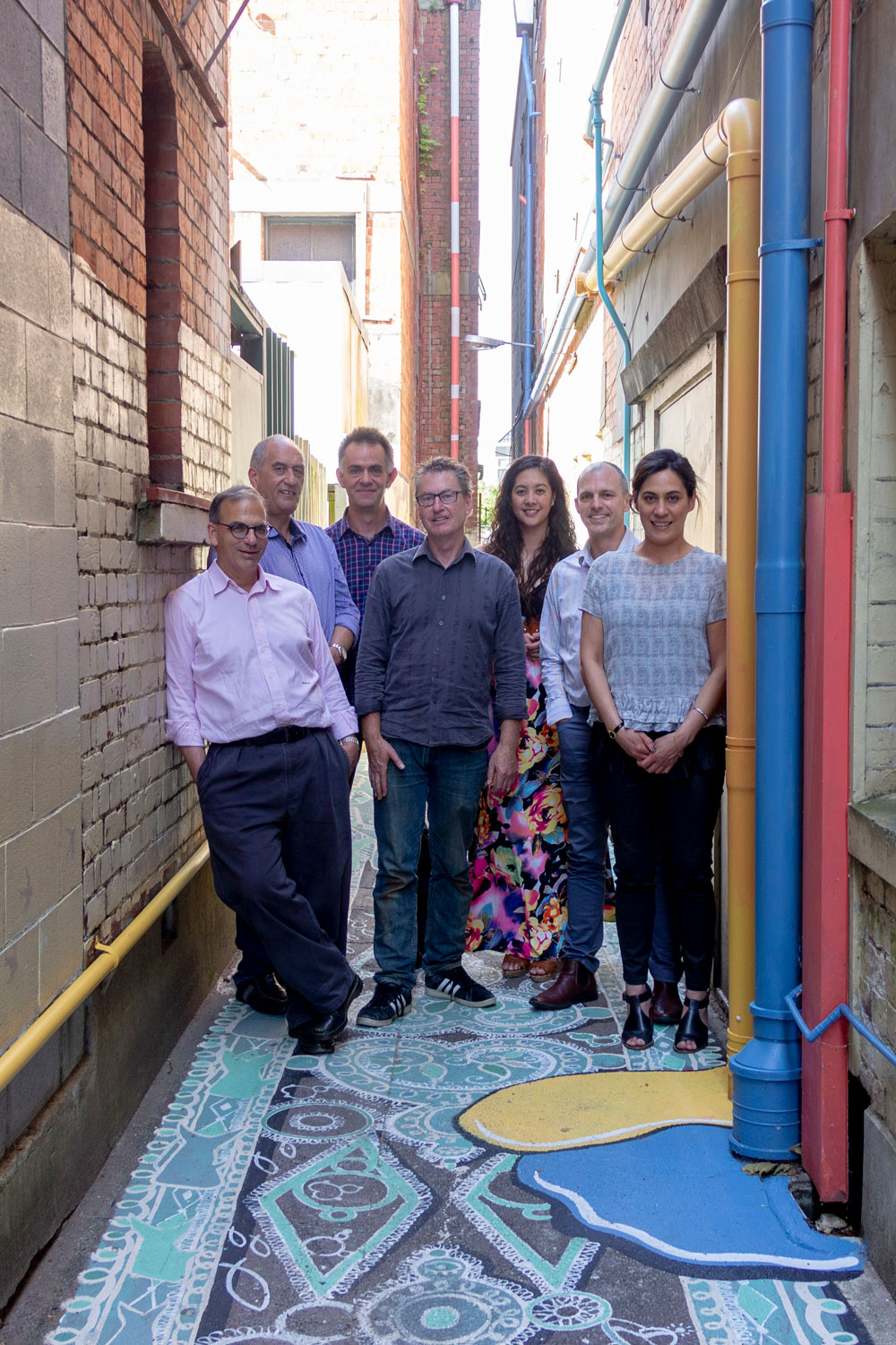 Artists Open Studios Trust board and team